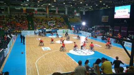 Rollstuhlbasketballtrainer